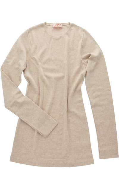 FOGAL 712 TOUCH Cashmere Top 265 BEIGE-MELE