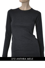 FOGAL 712 TOUCH Cashmere Top 272 ANTHRA-MELE