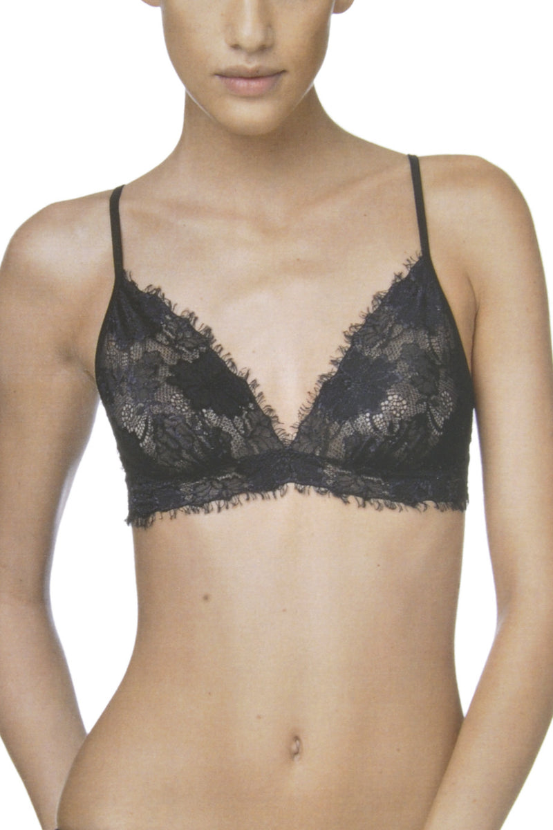 FOGAL 845 ROMANTIC Soft Bra 210 Noir Black