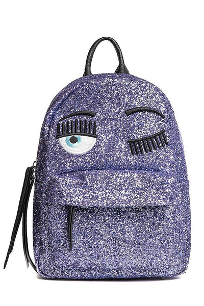 CHIARA FERRAGNI FLIRTING Purple Backpack