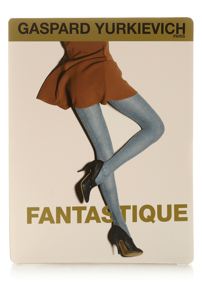 FANTASTIQUE Mint Leopard Tights