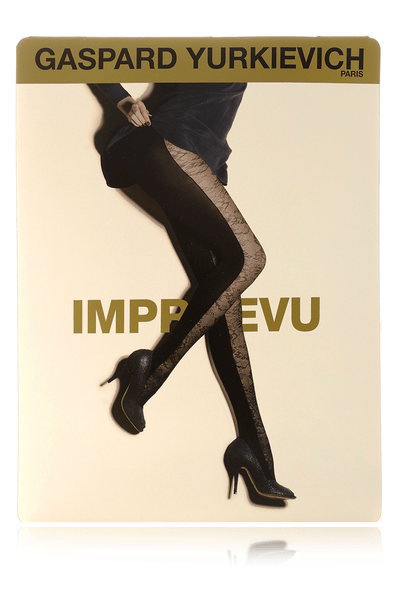 IMPREVU Black Lace Tights