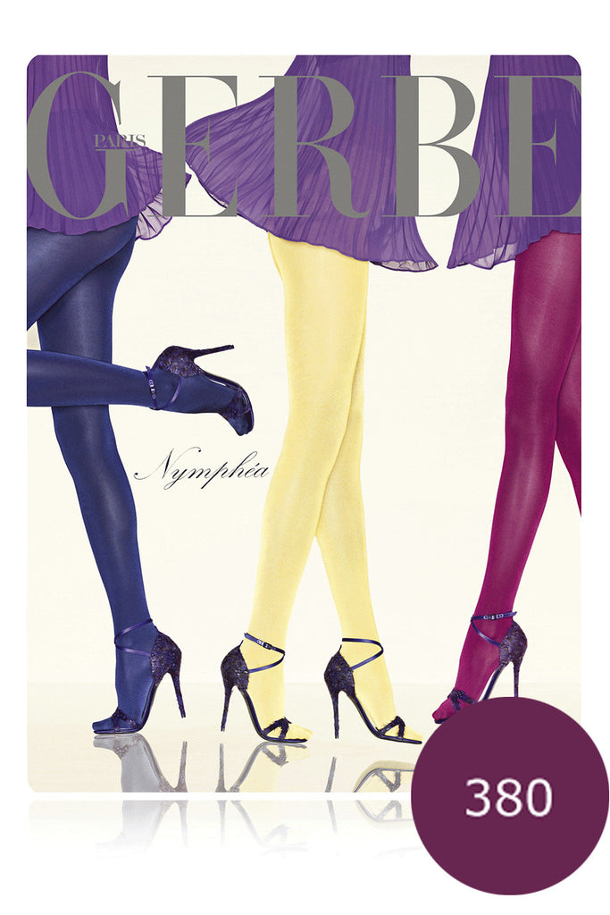 GERBE NYMPHEA Iridescent Finish Pourpre Tights
