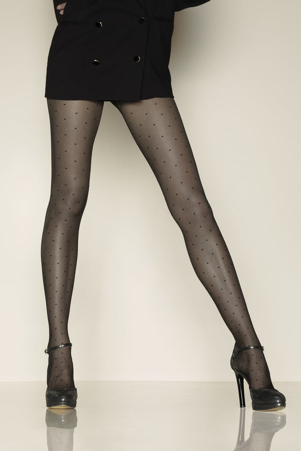 GERBE PLUMETIS Sheer Dotted Tights