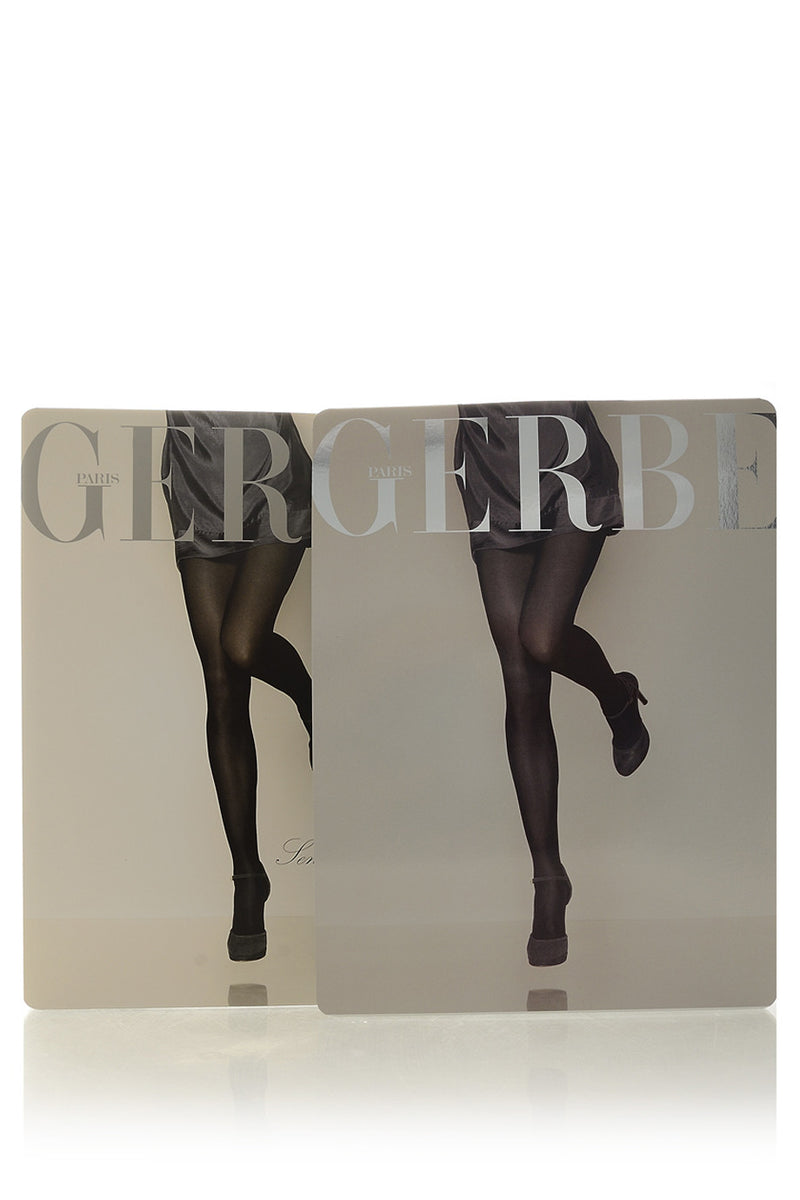 GERBE SENSITIVE 30 Black Tights