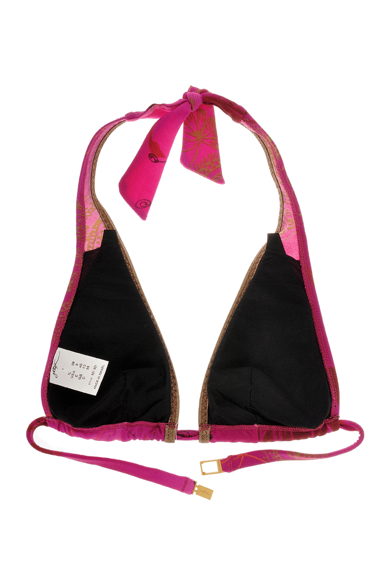 GOTTEX ABSTRACT Magenta Triangle Bikini
