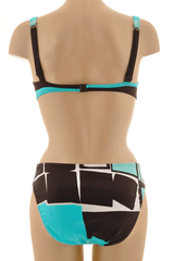 GOTTEX ABSTRACT Turquoise Underwired Cup Bikini