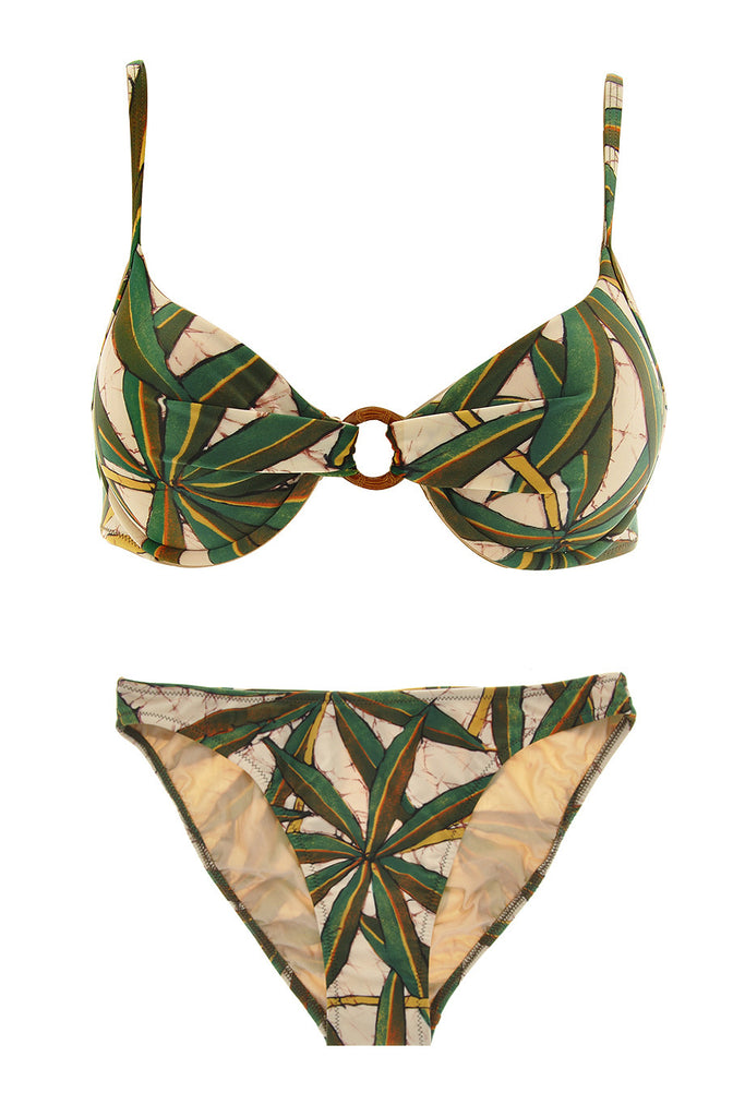 GOTTEX JUNGLE Beige Green Bikini