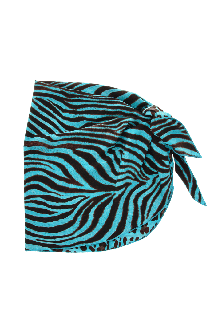 GOTTEX LEO Double Sided Turquoise Sarong
