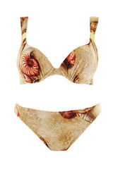 GOTTEX SEASHELL Beige Red Bikini