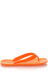 HENRY & HENRY FLIPPER Orange Fluo Flip Flops
