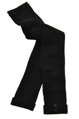 HYD DANZA Black Crochet Leggings