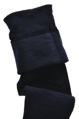 HYD WOOLLEN Merino Over The Knees Black