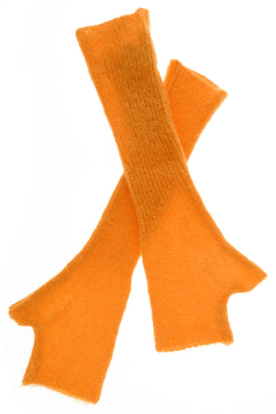 INVERNI EVEREST Orange Fingerless Wool Women Gloves