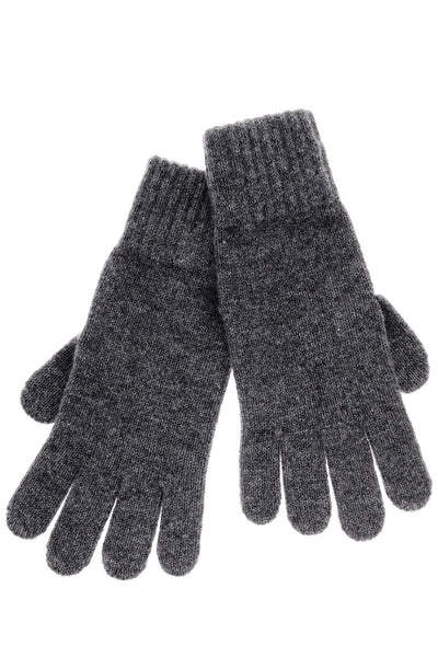 FLORENCE Grey Cashmere Wool Women Gloves