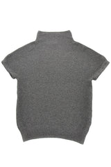 INVERNI ALPS Grey Cashmere Top