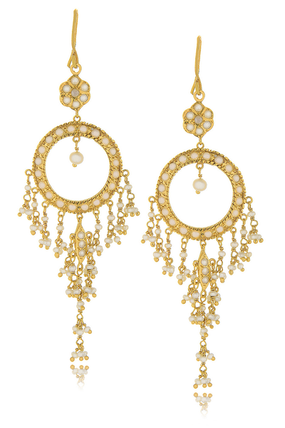 ISHARYA NIKITA Pearl Earrings
