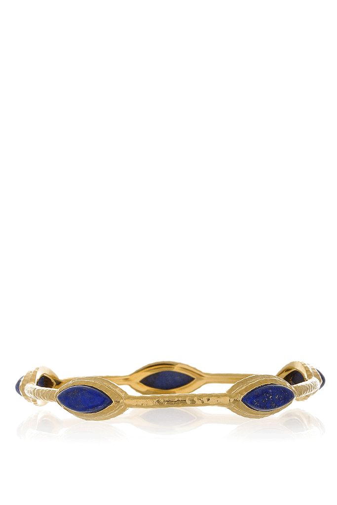 ISHARYA NILE NYMPH Blue Lapis Bangle Bracelet