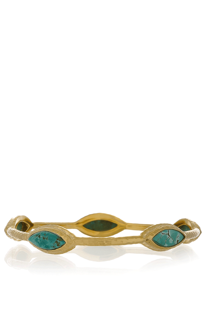 ISHARYA NILE NYMPH Turquoise Bangle Bracelet