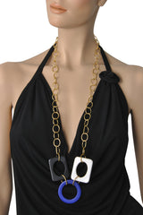ISHARYA CUBIST Square Necklace