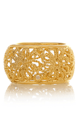 ISHARYA DAISY Band Gold Ring