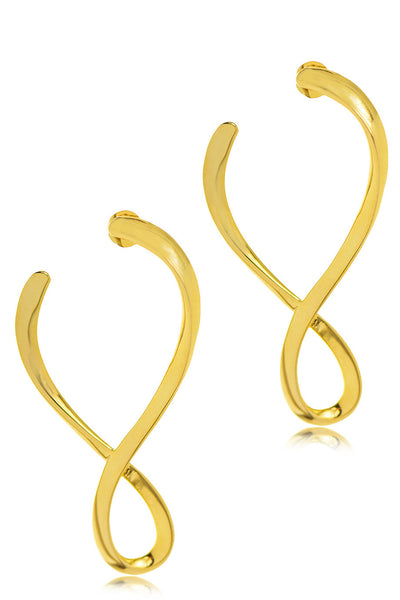 ETERNITY Gold Earrings