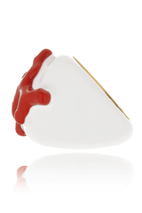 KENNETH JAY LANE BRANCH Coral Ring