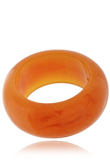 KENNETH JAY LANE CAITLIN Large Amber Bangle