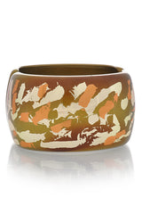 KENNETH JAY LANE Camouflage Olive Cuff
