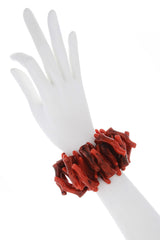 KENNETH JAY LANE HONOLULU Coral Branch Bracelet