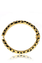 KENNETH JAY LANE JAGUAR Gold Cuff