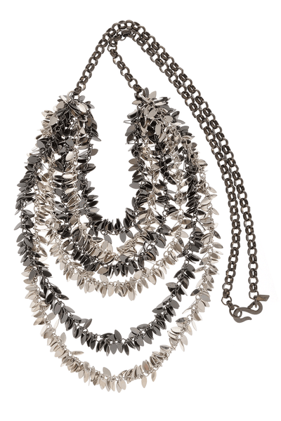KENNETH JAY LANE Long Leaves Necklace