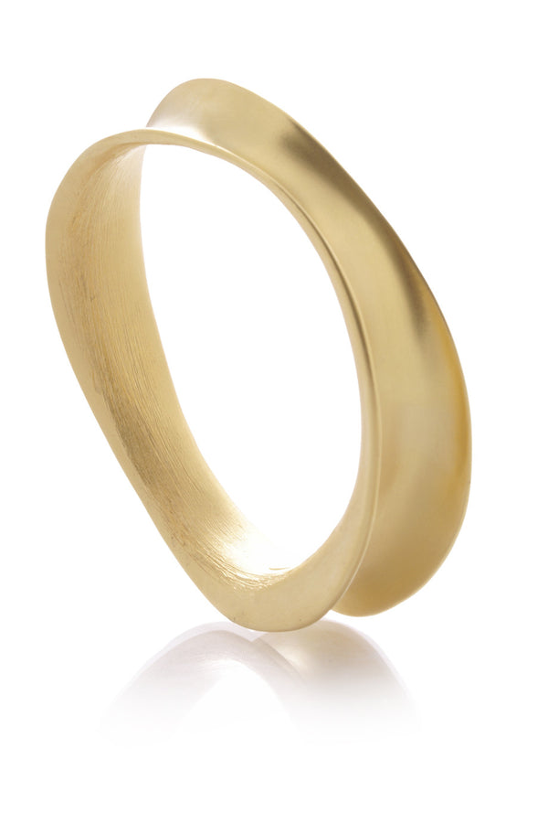 KENNETH JAY LANE ODD Shaped Gold Bracelet