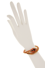 KENNETH JAY LANE ROYAL Coral Snake Bracelet