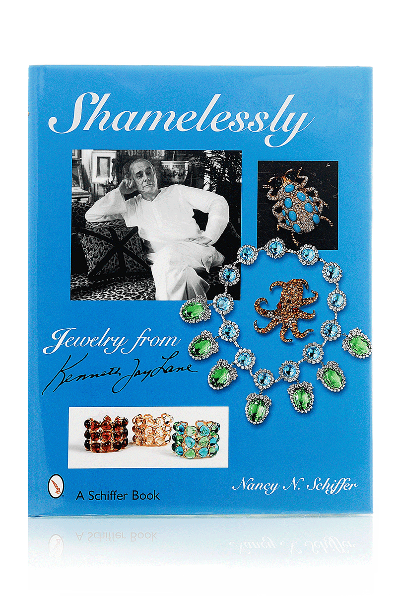 KENNETH JAY LANE SHAMELESSLY Jewelry Hardcover Book