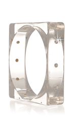 KENNETH JAY LANE Square Resin Bangle