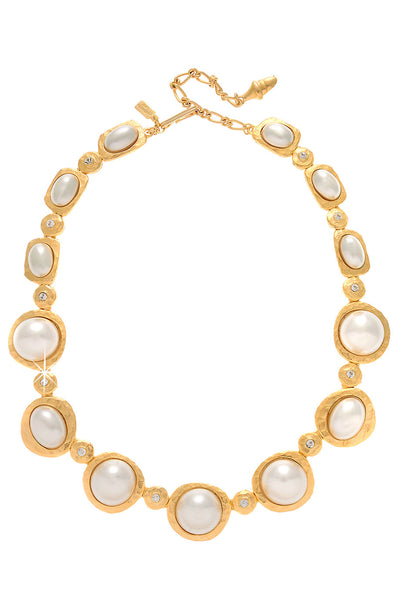 KENNETH JAY LANE White Pearl Necklace