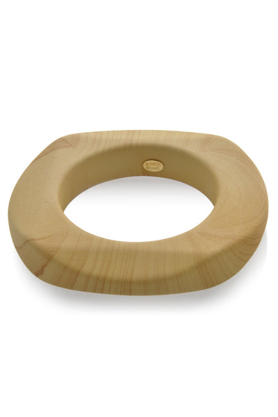 KENNETH JAY LANE Wooden Round Bangle