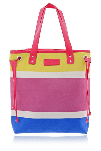 LARINE Color Block Shoulder Bag
