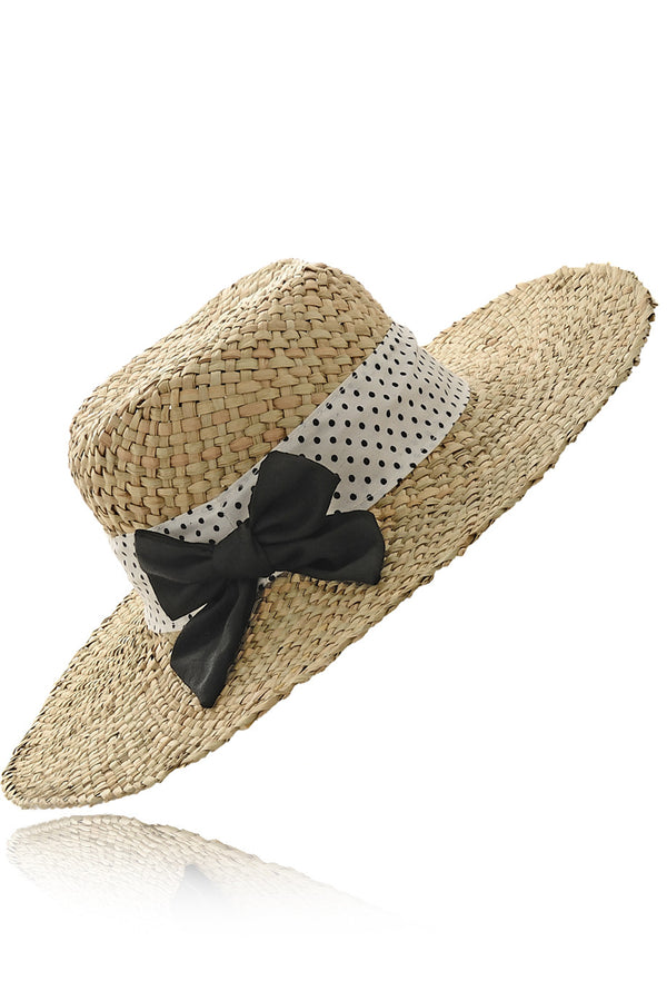 ARDINE Nero Beach Hat