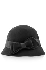 COCO Black Cloche Hat
