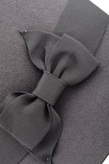 JUNIPER Grey Bow Cloche Hat