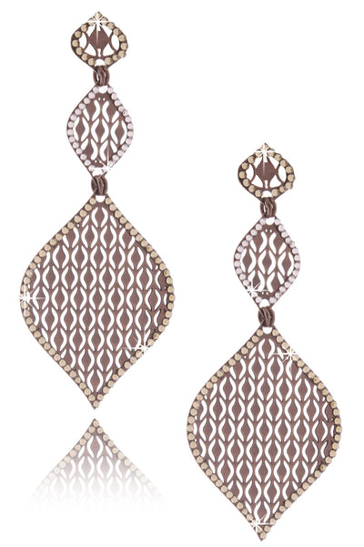 Bronze Two Drop Earrings