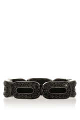 LK DESIGNS Dark Silver Black Bracelet