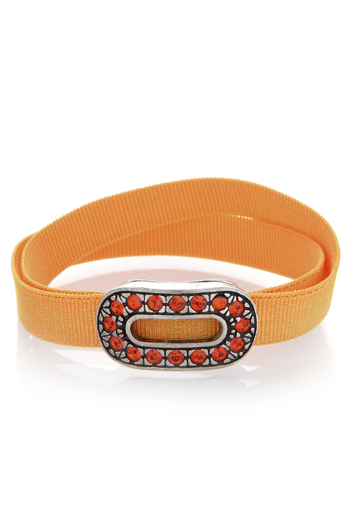 LK DESIGNS ETERNA Orange Ribbon Bracelet