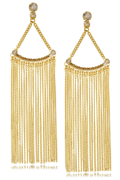 GAIA Long Gold Earrings