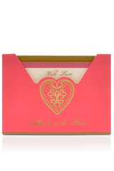 LK DESIGNS HEART Greeting Cards