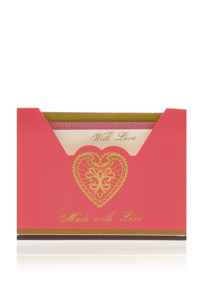 LK DESIGNS HEART Small Greeting Cards