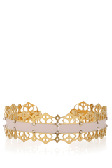 LK DESIGNS IVORY DREAM Gold Bracelet