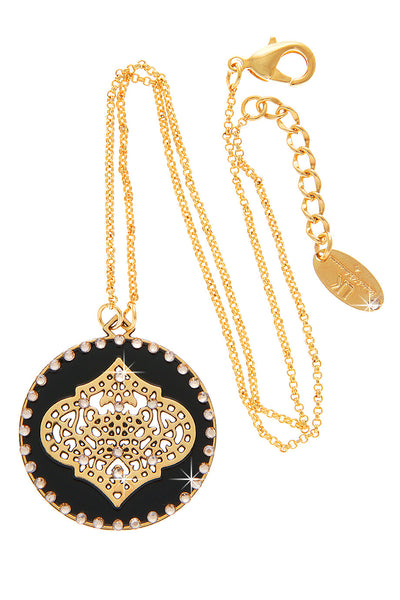 LK DESIGNS ORIENTAL DREAM Black Pendant